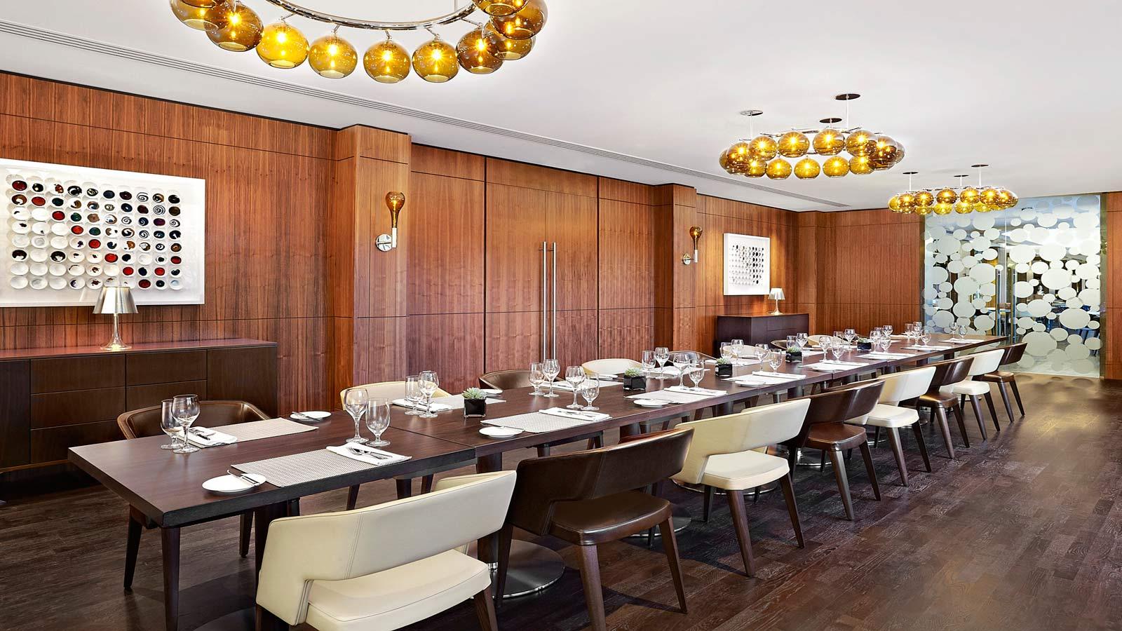 Meeting Rooms Edinburgh | Sheraton Edinburgh Hotel | Private Dining