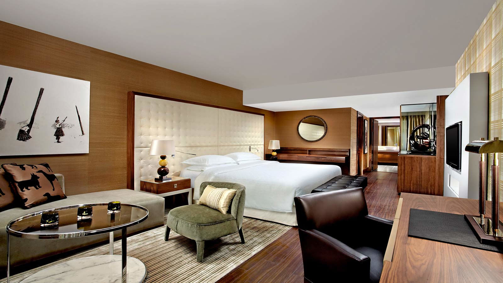On Suite Bedroom Sheraton Edinburgh Hotel The Grand Suite Accommodation In